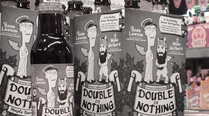 Lawson's & Otter Creek Double or Nothing Maple Barley Wine