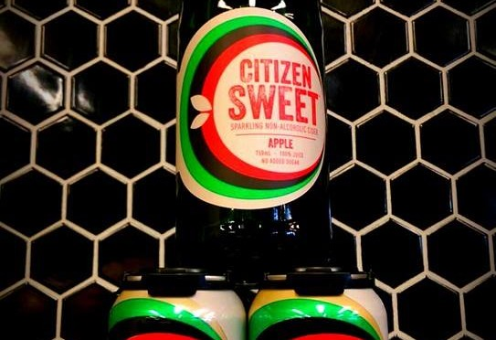 Citizen Cider Sweet Tasting – Non-Alcoholic!