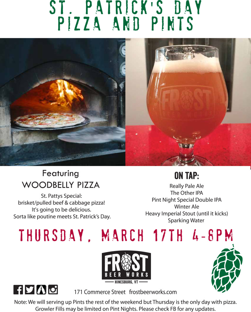 FBW St Patricks Day Pizza and Pints Final_sm copy