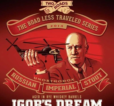Igor's Dream Russian Imperial Stout – Rye Whiskey Barrel Aged