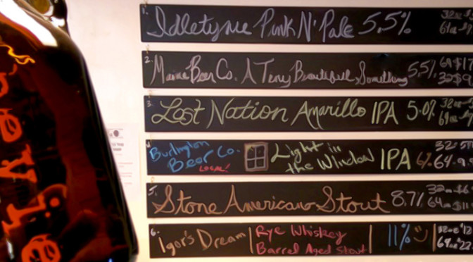 Current Flow at the Beverage Warehouse Growler Bar 04/20/16