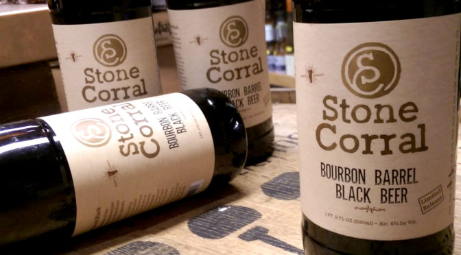 Stone Corral | Bourbon Barrel | Black Beer