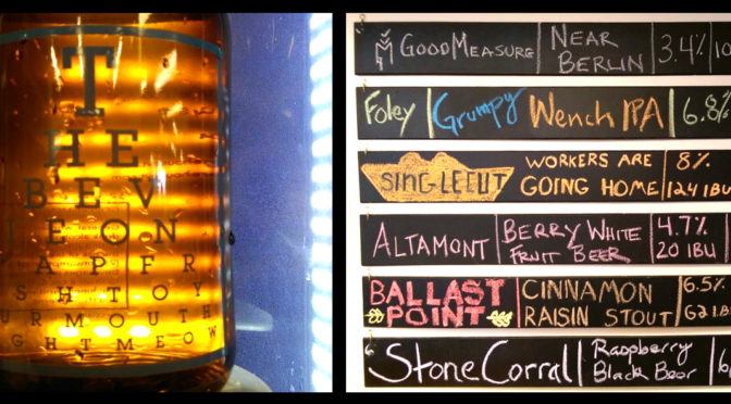 Growler Bar Updates Featuring Ballast Point Cinnamon Raisin Stout!