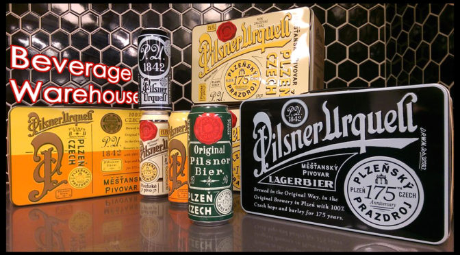 Pilsner Urquell | Czech Pilsner Beer | Special Metal Lunch Box Gift Sets