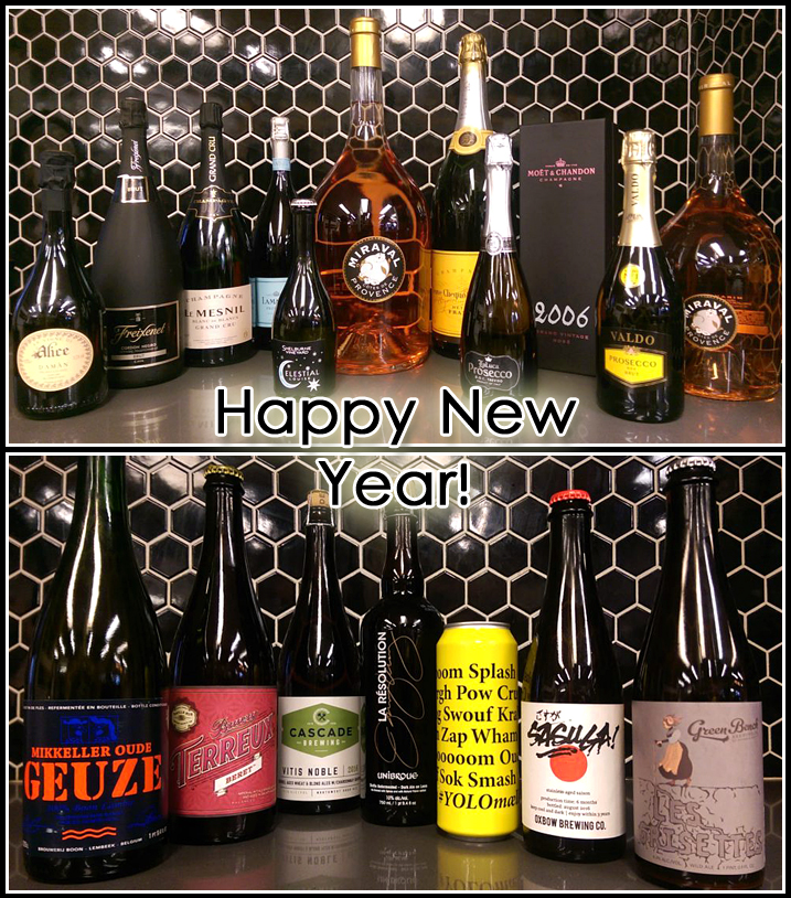 new years celebration wine beer guide