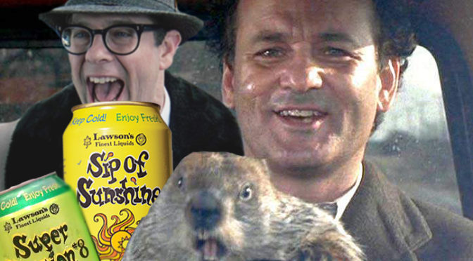 Happy Groundhog Day!  Lawson's Sip of Sunshine IPA & Super Session #8