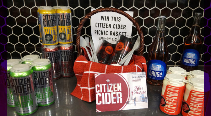 Citizen Cider Tasting | FRI 04/27 4-7 PM