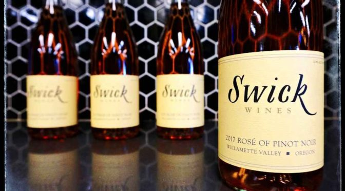 Swick Wines Rose of Pinot Noir 2017