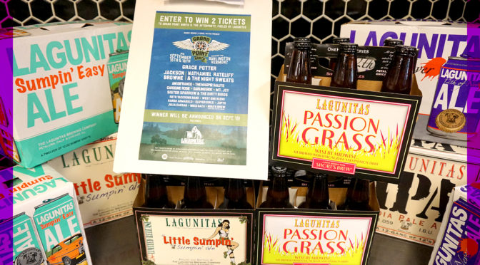 Lagunitas IPA & Tart Ale Tasting PLUS Enter to Win Grand Point North Festival Tickets | Friday September 7th 3:30-6:30 PM