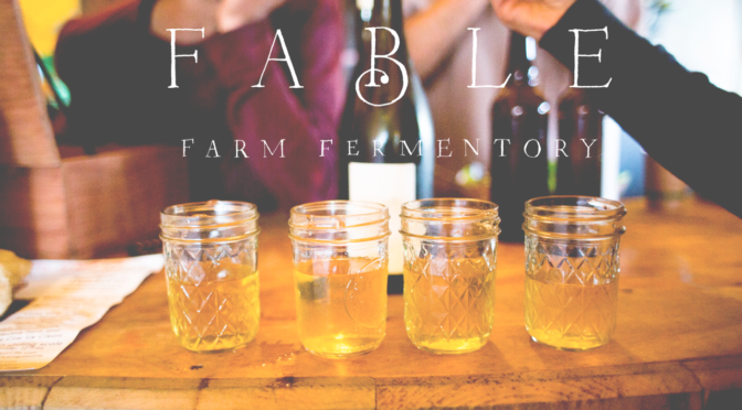 New Ciders and Wines from Vermont's Fable Farm Fermentory!