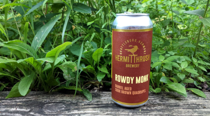 Limited Release! Hermit Thrush Rowdy Monk Barrel-Aged Sour Brown Quadrupel
