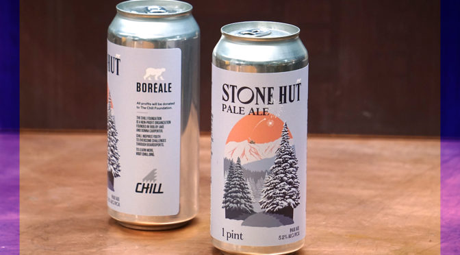 Boreale Stone Hut Pale Ale Chill Foundation Jake Burton
