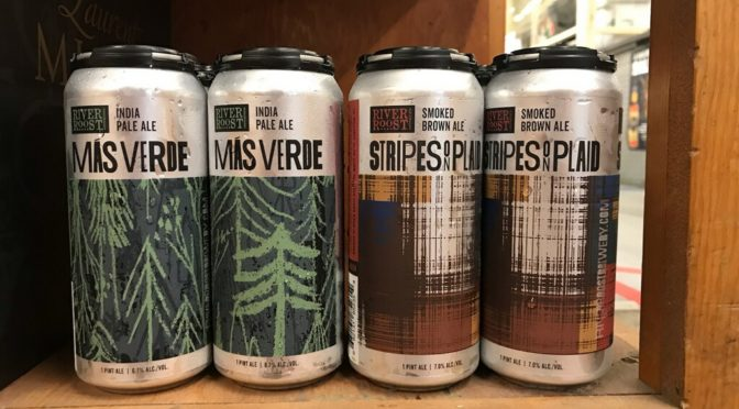 River Roost Más Verde IPA plus Stripes on Plaid Release!