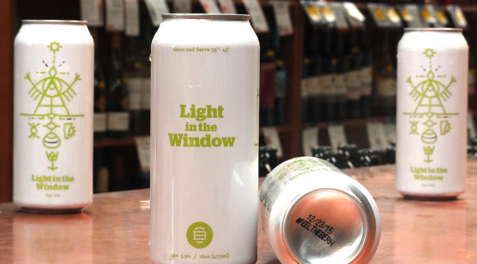Burlington Beer Co. Light in the Window Rye IPA