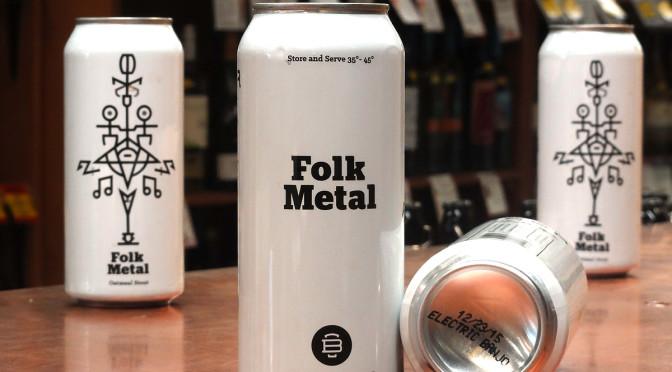 Burlington Beer Co. Folk Metal Oatmeal Stout