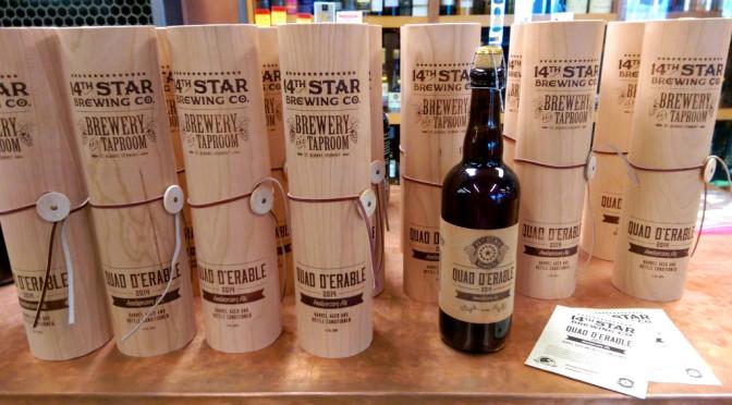 14th Star Quad D'erable Anniversary Ale