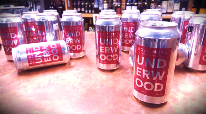 Underwood Wine Cans   Union Wine Co.   Pinot Noir   Pinot Gris   Rose