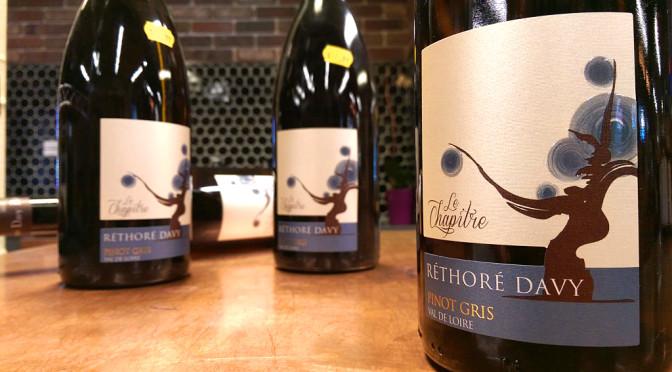 Domaine Rethore Davy Pinot Gris   Le Chapitre 2015