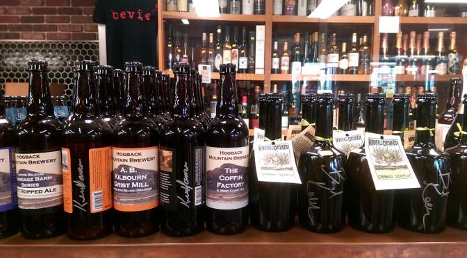 Autographed VT Beer & Cider Bottles