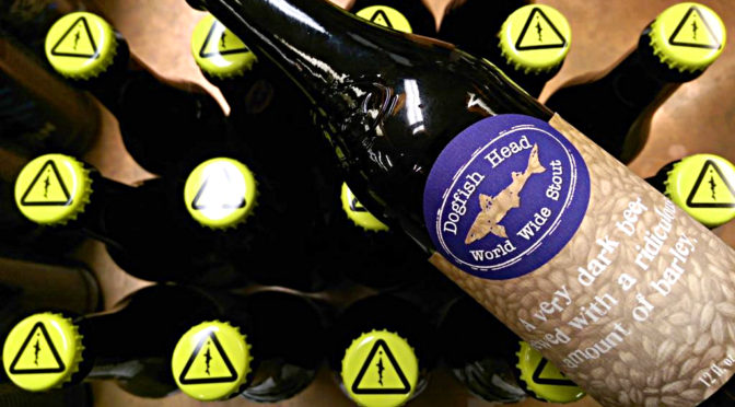 Dogfish Head World Wide Stout   2016