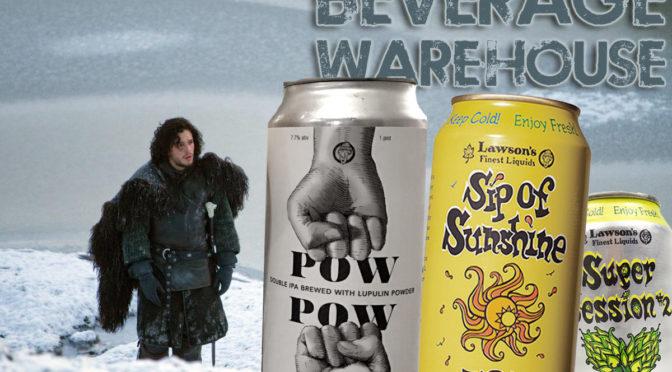 Pow Pow Beer | Lawson's & Trillium | Sip of Sunshine | Super Session | FRI 12/16 & SAT 12/17