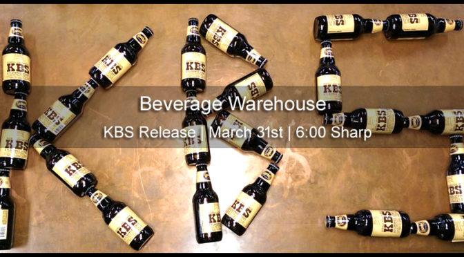 KBS | Bourbon Barrel Aged Stout | Founders Brewing Co. | 2017 & 2016 Vintage Release | 03/31 FRI 6p