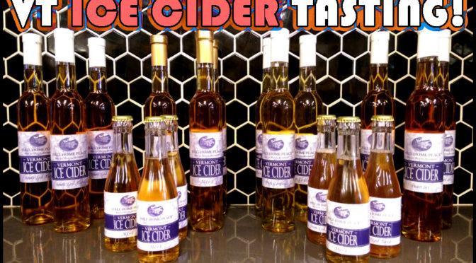 Hall Home VT Ice Cider Tasting + Jalapeno Cider Tasting/Release!  SAT 03/11 10a-12p