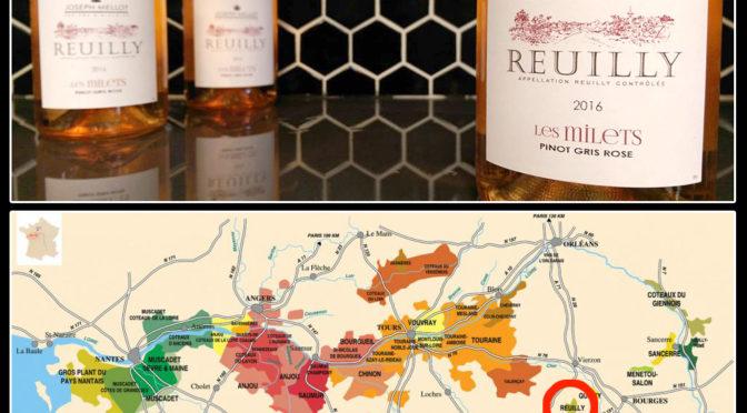 30 Days of Rosé   #06   Joseph Mellot Rosé   Reuilly – Loire Valley   Pinot Gris Rosé   2016