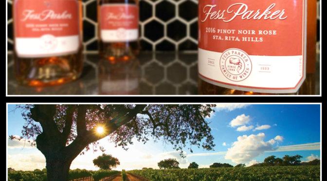 30 Days of Rosé   #21   Fess Parker   Pinot Noir Rosé   2016   Santa Rita Hills   California