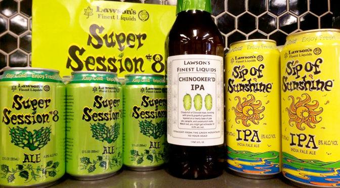 Lawson's Chinooker'd IPA | Sip of Sunshine | Super Session #8 | FRI 02/16 & SAT 02/17