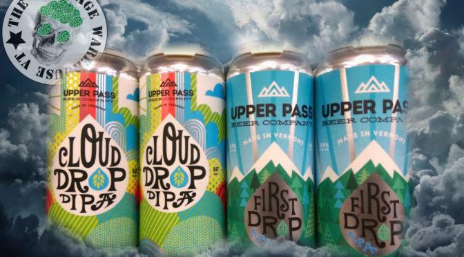 Upper Pass Cloud Drop DIPA | Upper Pass First Drop Pale Ale