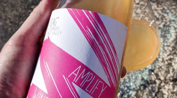 "60 Days of Rosé   #08   Amplify Wines   ""Pink Flag"" Rosé of Counoise   Santa Ynez Valley, Santa Barbara County, California   $21.99"