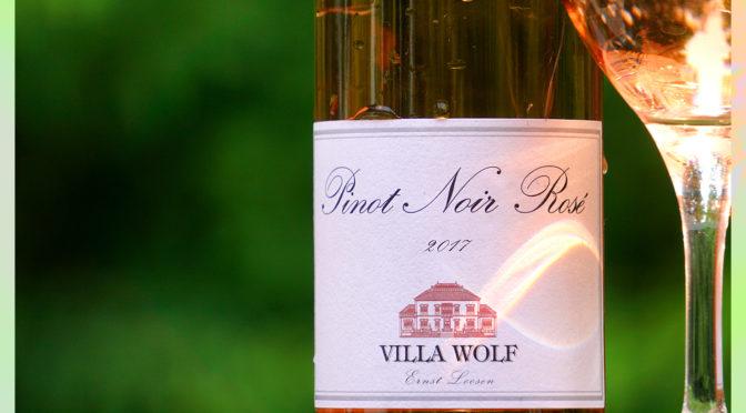 60 Days of Rosé #12   Villa Wolf   Pinot Noir Rosé   $12.99