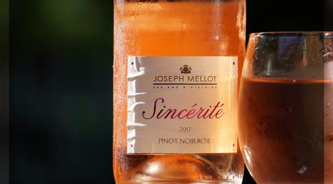 60 Days of Rosé #16 | Joseph Mellot | Sincérité | Pinot Noir Rosé | Loire Valley | $14.99