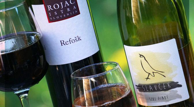 Slovenian Wine Review | Slavček Sivi Pinot & Rojac Refošk | Outstanding Flavor & Value