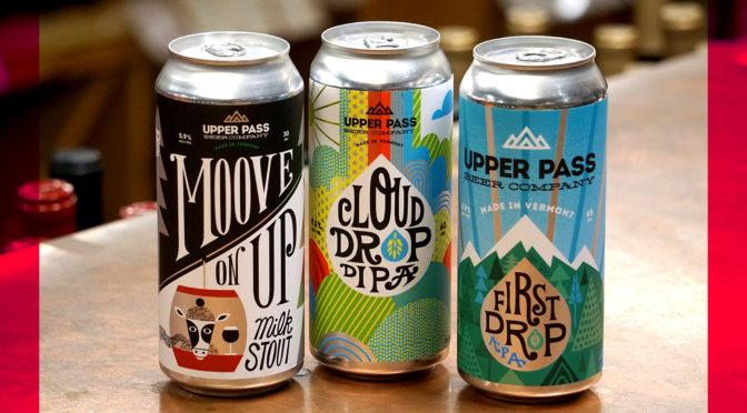 Upper Pass | Cloud Drop DIPA | First Drop APA | Moove On Up Milk Stout
