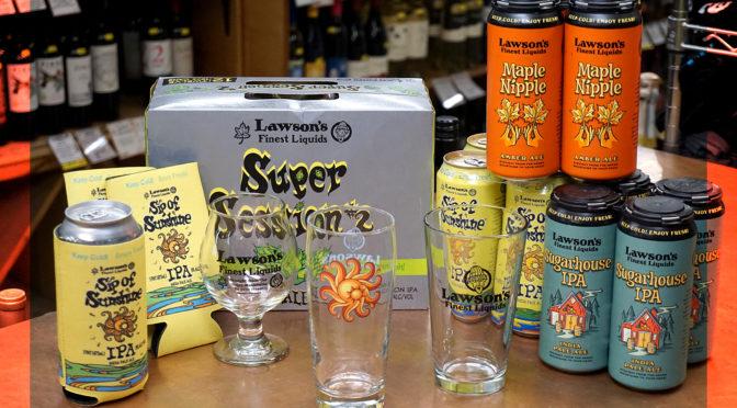 Lawson's Finest Liquids | Maple Nipple Ale | Sugarhouse IPA | New Glass Design