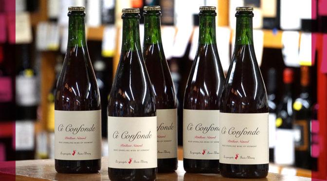 La garagista | Ci Confonde | Petillant Naturel Rosé | Sparkling Wine of Vermont