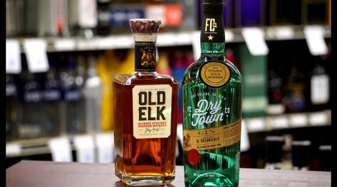 Free Dry Town Gin & Old Elk Bourbon Tasting | SAT 06/08 3-5PM