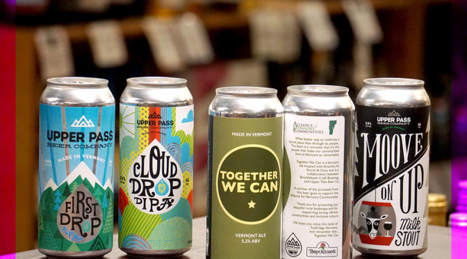 Upper Pass Brewing | Cloud Drop DIPA | First Drop | Together We Can | Moove on Up Stout