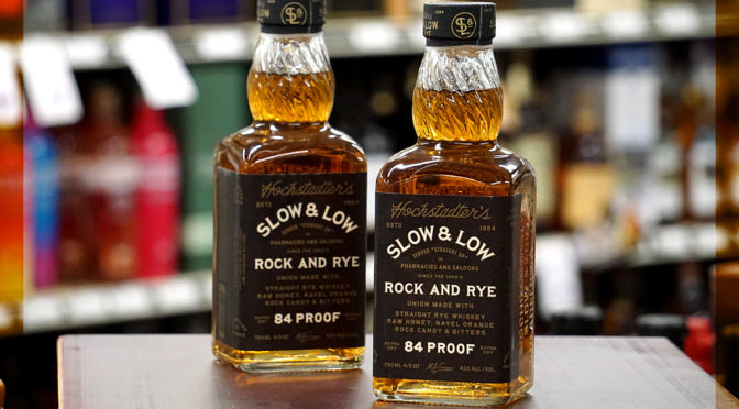 Slow & Low – Rock & Rye | Tasting 07/13 SAT 3-5 PM