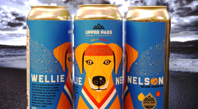 Upper Pass | Wellie Nelson IPA | Nelson Sauvin IPA
