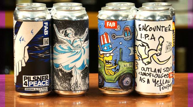 FAB Beer Release | FRI 02/14 – Pilsner 4 Peace & Tremendous IPA