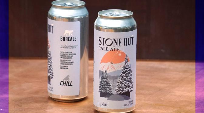 Boreale Stone Hut Pale Ale Chill Foundation Jake Burton