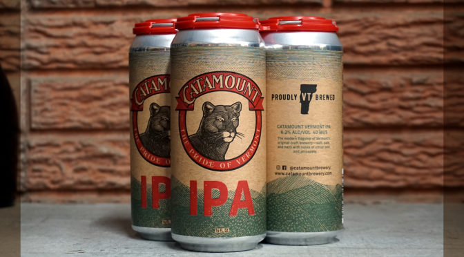 Catamount IPA | Limited & Proudly Brewed in VT